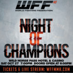 World Fighting Federation 40 - RESULTS