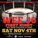 World Fighting Federation 36 - RESULTS