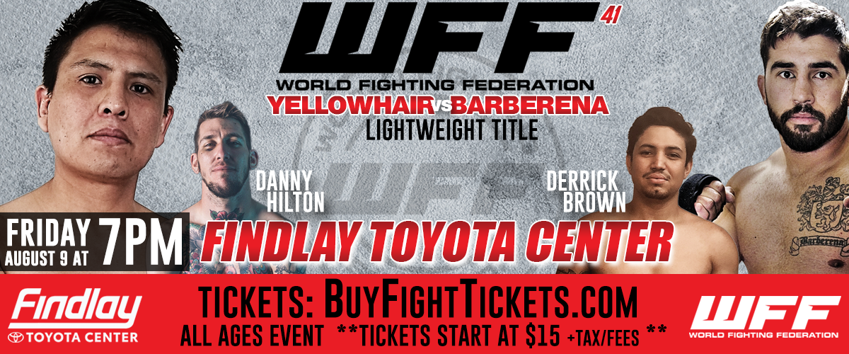 World Fighting Federation 41 - RESULTS