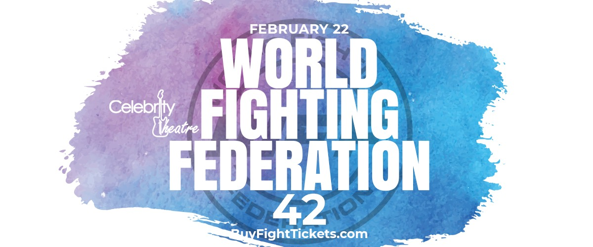 World Fighting Federation 42 - RESULTS